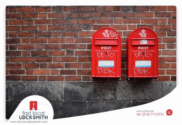 Installing Mailbox Lock in Philadelphia