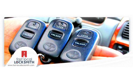 Remote entry fob clicker (Alarm transmitter)