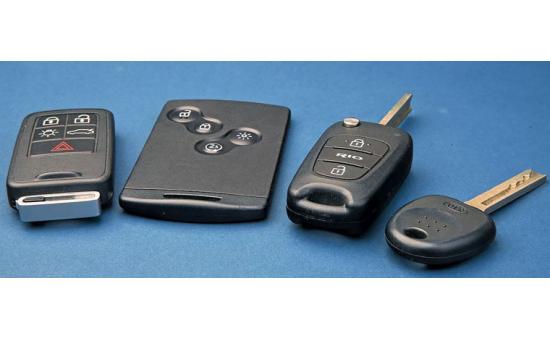 New Vehicle Key