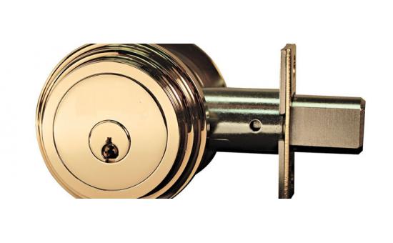 Residential deadbolt lock (includes installation)
