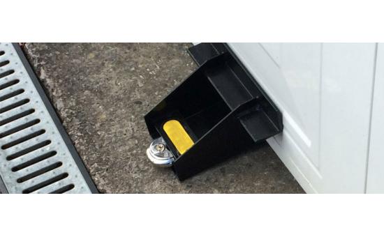 Garage door locks, includes installation